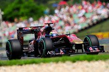 Sebastien Buemi (SUI) Scuderia Toro Rosso STR5. Formula One World Championship, Rd 12, Hungarian Grand Prix, Qualifying Day, Budapest, Hungary, Saturday, 31 July 2010  © Sutton Images. No reproduction without permission