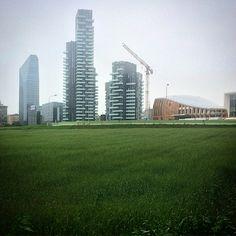 Porta Nuova ed il suo campo di grano - Milano