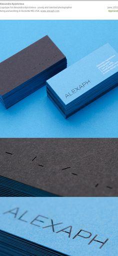 biz card / Alexandra Apostolova by Dimiter Petrov