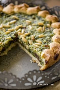 Torta coi becchi (spinaci e biete e cose dolci)/simile ovviamente alla torta de blea nizzarda