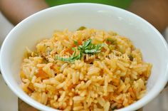Tomato Rice | Simply Trini Cooking    #trinicooking