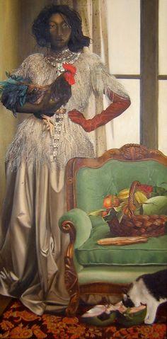 """Mama Legba"" by Elizabeth Colomba, 2011"