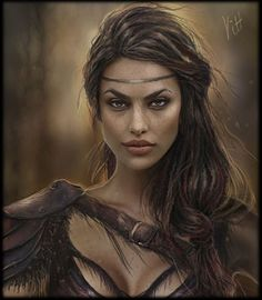 Fantasy Portraits, Character Portraits, Fantasy Artwork, Character Art, Fantasy Art Women, Fantasy Girl, Female Face Drawing, Female Art, Inspiration Drawing