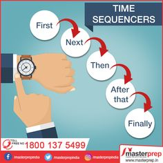 Time to learn how to express the sequence of events! All this will help to enrich your English vocabulary and speak English confidently. For best results in IELTS, join - the best institute for in North India. Running exclusive batches for and English Games, English Grammar, English Language, Good Vocabulary Words, English Vocabulary Games, Vocabulary Strategies, Bilingual Education, Education English, Learn English Words