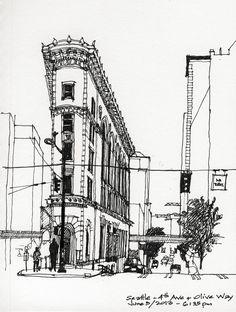 Urban Sketchers: Matthew Cencich