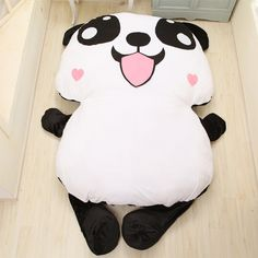 Papa Panda plush bed Giant cushion bed 卡通趴趴熊猫榻榻米床 创意榻榻米床