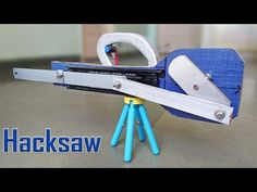 How to Make an Automatic Hacksaw at Home - YouTube