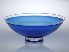 Half Round Bowl: Nicholas Kekic: Glass Bowl - Artful Home