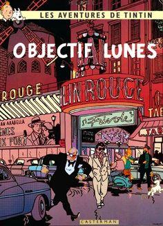 Les Aventures de Tintin - Album Imaginaire - Objectif Lunes