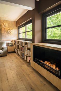 Bibliotheque Design, Verre Design, Small Spaces, Living Spaces, Architecture, Motifs, Inspiration, Decoration, Home Decor