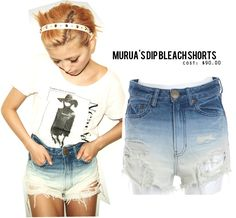 DIY bleach shorts