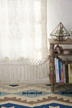 Plum & Bow Pieced Crochet Curtain - Urban Outfitters