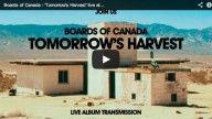 Transmisión del disco de Boards of Canada