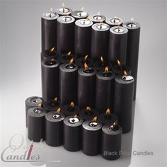 Quick Candles offers quality hand-poured, long-burning pillar candles and wholesale hurricane candles that are popular for restaurants, wedding centerpieces & more. Black Candles, Tea Light Candles, Votive Candles, Tea Lights, Wedding Centerpieces, Wedding Inspiration, Wedding Ideas, Harlem Renaissance, Roaring Twenties