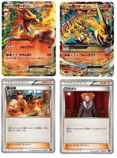 Pokemon card game XY Mega Battle deck 60 Mega Charizard EX: Amazon.fr: Jeux et Jouets