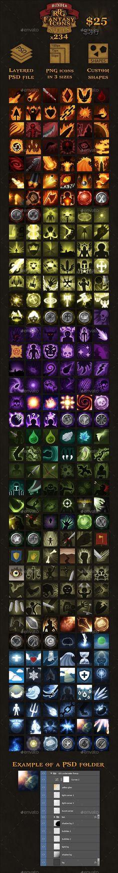 234 RPG Fantasy Spel...