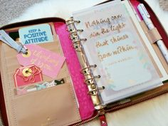 My Unicorn, Kate Spade Red Zip Wellesley with Webster's Pages inserts.