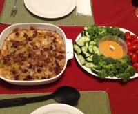 Tave Me Presh- Baked leek casserole from Albania