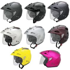 #apparel AFX FX-50 Open Face Motorcycle Street Solid Helmet please retweet