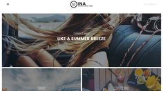 INA - A Photo Stories Blog Theme by MatchThemes on @creativemarket