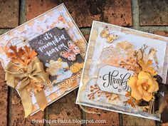 Frilly and Funkie: To Everything There Is a Season Challenge Halloween Cards, Fall Halloween, Fall Projects, Craft Projects, Rustic Fall Decor, Thanksgiving Cards, Diy Cards, Handmade Cards, Fall Cards