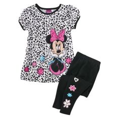 Minnie Mouse Pajama Set from Target