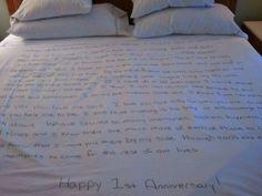 Handwritten Cover | Easy DIY Anniversary Gift Ideas for Him