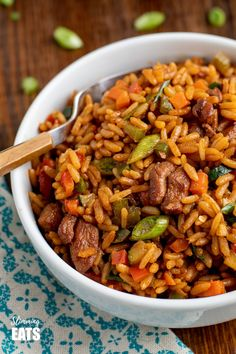 Tasty Low Syn Teriyaki Chicken and Rice Bowl - the flavours in this yummy dish will be a hit for the entire family. Gluten free, Dairy Free, Slimming World and Weight Watchers friendly