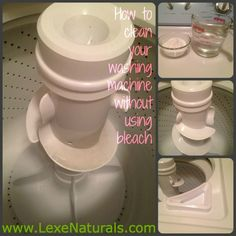 I love that it is natural and I don't have to use bleach, which I have been trying to get away from. -Ashley Jordan Lexie Naturals: How to Clean Your {Top Loader} Washing Machine Without Using Bleach. And Tips for Keeping it Clean!