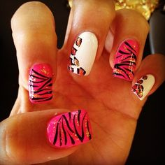 .love the zebra print. Not so much the leopard print