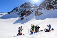 ski tours Ski Touring, Mount Everest, Skiing, Tours, Good Things, Mountains, Nature, Travel, Ski