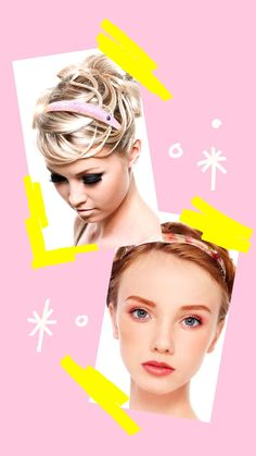 Fast Hairstyles, Headband Hairstyles, Sweet Band, Fashion Accessories, Hair Accessories, Comfort Style, Stylish Hair, Comfortable Fashion, Hair Looks