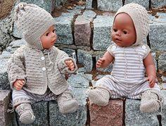 Strikk dukkeklær | strikke dukkeklær