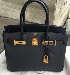 56e9c965843 Another piece just got  Birkin 30 Black Epsom GHW, Book it before it s gone  Ladies