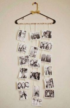 Beautiful Polaroid Photos Display Idea (66)