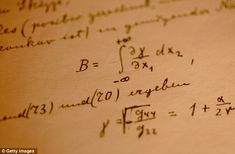 """Theory of Relativity"" in Einstein's own hand"