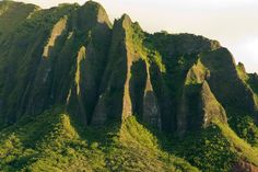 Possible climb that :) Koolau Mountains in Hawaii
