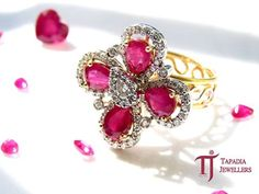The right piece to rock that February outfit! Luxury by appointment only. ‪#‎TapadiaJewellers‬ ‪#‎TJ‬ ‪#‎Pune‬ ‪#‎ValentineDaySpecial‬