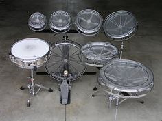 Thought I'd pull this one out, my Rototom set up a lá Bruford - DrumChat.com - Drummer Forum / DRUM FORUM for Drums
