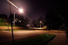 Neighborhood Lights - Long Exposure