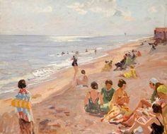 Talmage, Algernon, Silver Morning, Aldeburgh Beach