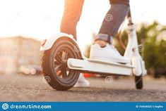 Blurred Background, Electric Scooter, Fresh, Image
