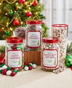A Holiday Favorite in a Mason Jar makes a great stocking stuffer or hostess gift. This classic take on a favorite holiday candy is sure to please everyone.