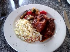 oxtail n samp Oxtail, Meat Recipes, Risotto, Oatmeal, Breakfast, Ethnic Recipes, Kitchen, African, Food