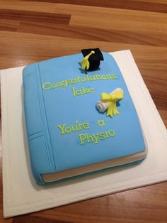 Graduation cake book