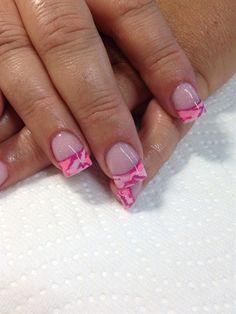 Pink Camo by Diva4lfe - Nail Art Gallery nailartgallery.nailsmag.com by Nails Magazine www.nailsmag.com #nailart