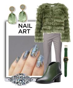 """💞 Nail Art Contest💞"" by sabine-713 ❤ liked on Polyvore featuring beauty, WtR London and Alice + Olivia"