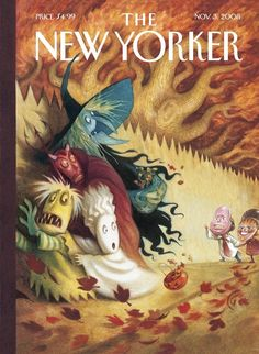 Halloween cover for The New Yorker by Carter Goodrich. (Issue dated Nov. 3. 2008)