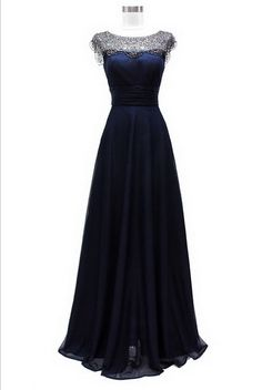 KCWM1528 Navy Mother of the Bride Dress by Kari Chang Eternal