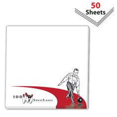 Promotional Products - Sticky Notes 4 x 4 pad 50 sheet count. (Customized with your brand or logo)